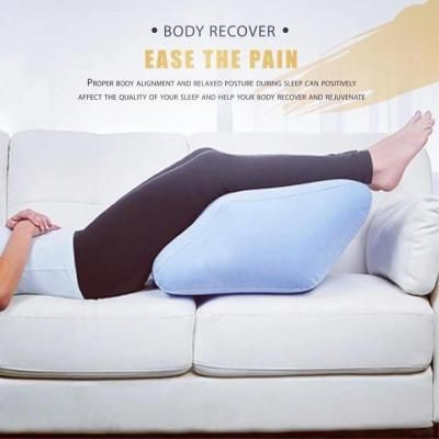 inflatable leg lift pillow leg