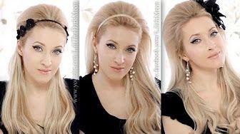 Wedding/prom updo hairstyle: marie antoinette hair tutorial.