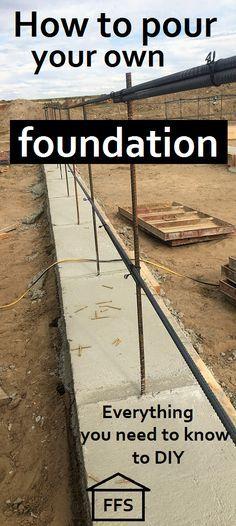 concrete foundation forms - Google Search Architechture