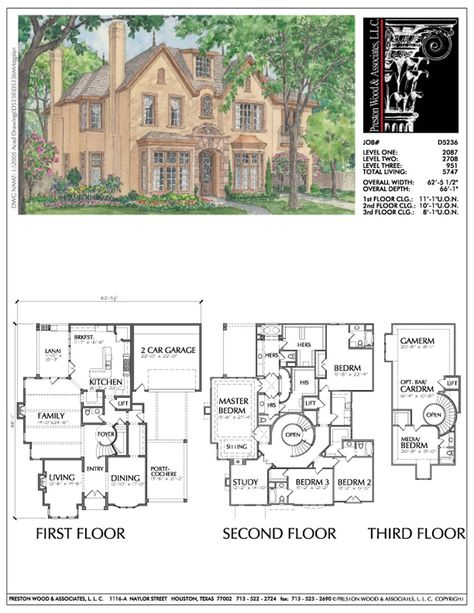 2 1 2 Story Urban House Plan D5236 With Images Vintage House Plans House Plans Story House