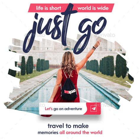 Travel – Tours Social Media Post and Stories – Travel