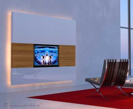 Led In Slaapkamer : Tv wand led. tv wand led with tv wand led. cool tv beleuchtung