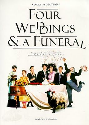 4 Weaddings and a Funeral