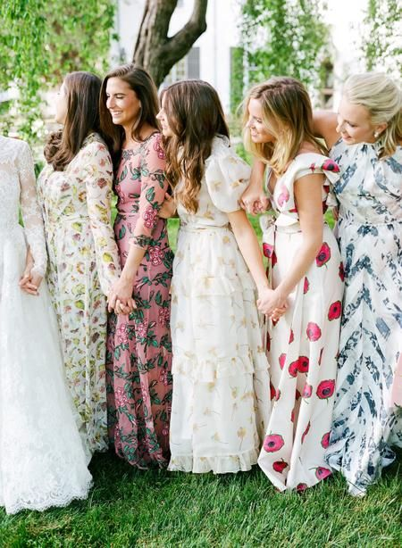 The Most Fabulous Floral Dresses To Flaunt In 2019 Floral Bridesmaid Dresses Printed Bridesmaid Dresses Bridesmaid Dresses Boho