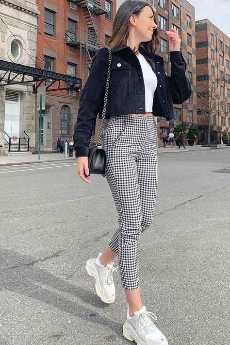 18 Versatile Plaid Pants And Ways Of Pulling Them Off