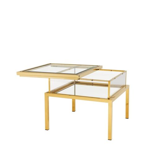 Gold Side Table Eichholtz Harvey End Tables Table Gold Side