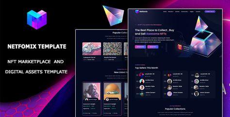 Netfomix — NFT Marketplace HTML Template   Stylelib