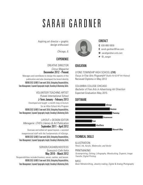 Art Director Job Description Creative Resume Designs Able To Land A