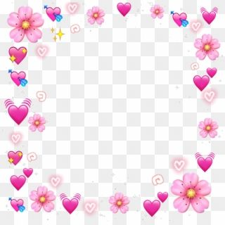 Meme Stickers Overlays Picsart Emoji Wallpaper Emojis Heart Emoji Crown Png Transparent Png In 2020 Heart Overlay Pink Heart Emoji Emoji