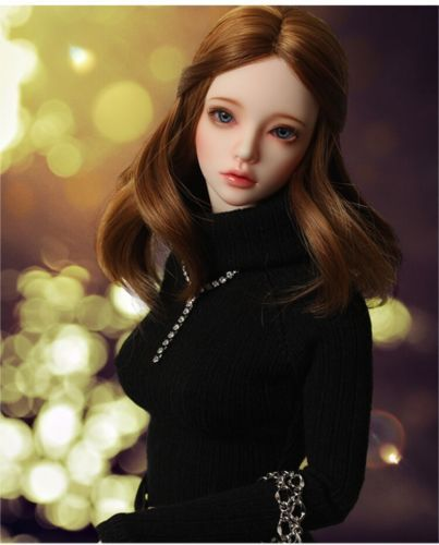 BJD 1//4 Doll lovely Girl Fashion Beauty Resin Dolls with free eyes face make up