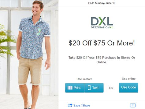 graphic relating to Dxl Printable Coupons identified as Pinterest