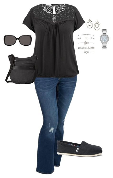 Love that top Plus Size Outfit, Plus Size Fashion by jmc6115 on Polyvore