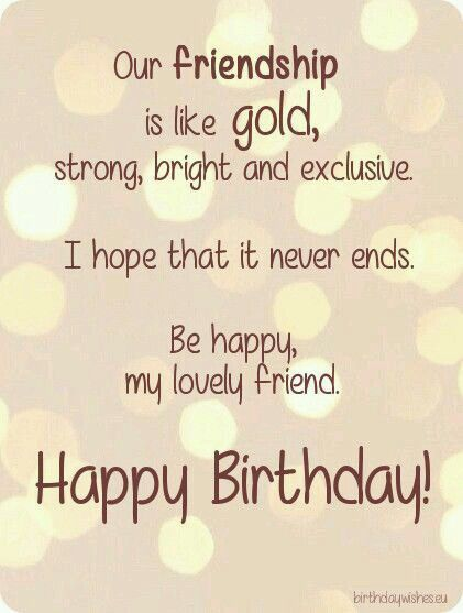 Bff Birthday Quotes For Your Best Friend
