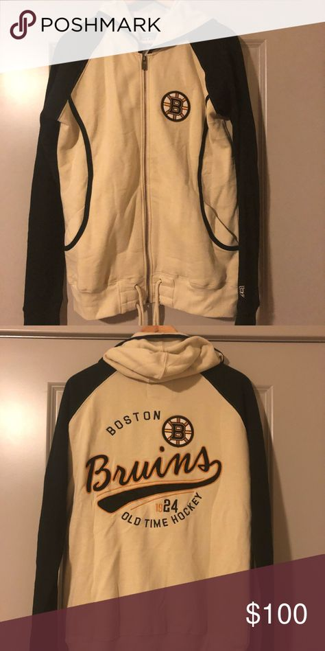 Boston Bruins Women S Hoodie Nwt My Posh Closet Pinterest