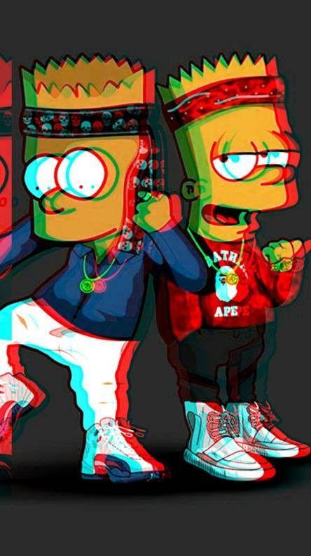 Wallpaper Bape Bart Simpson Art Simpsons Art Simpsons Drawings Bape cool bart wallpapers