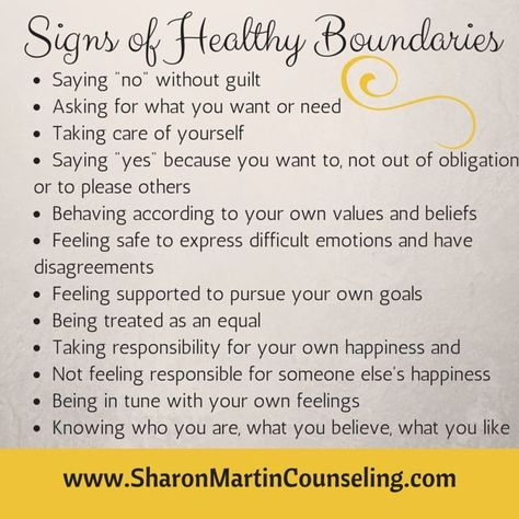 What are Healthy Boundaries? - Sharon Martin, LCSW Counseling San Jose and Campbell, CA