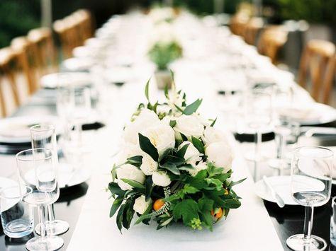 White Wedding Table
