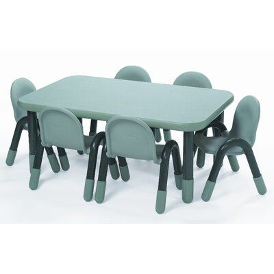 Angeles Baseline 60 X 30 Rectangular Activity Table Side Finish