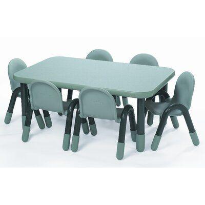 Angeles Baseline 60 X 30 Rectangular Activity Table Side Finish