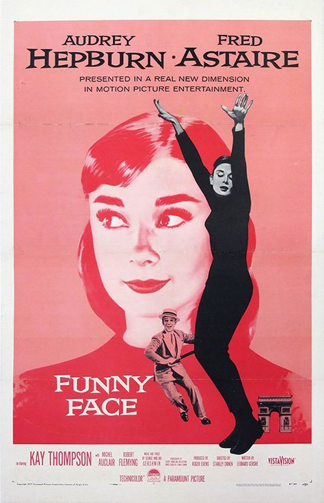 photo about Movie Posters Printable identified as Humorous Confront, Audrey Hepburn - Basic Online video Poster, clic