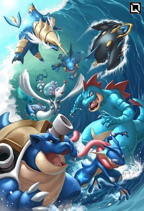 Water Starter Final Evolutions Drake Tsui