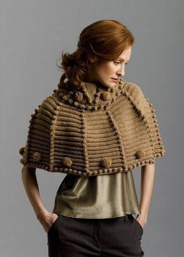 كيف يمكن توسيع الملابس الضيقة Simple Design Clothes Knitted Poncho Clothes Design