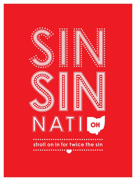 """""""stroll on in for twice the sin"""" hahaha"""