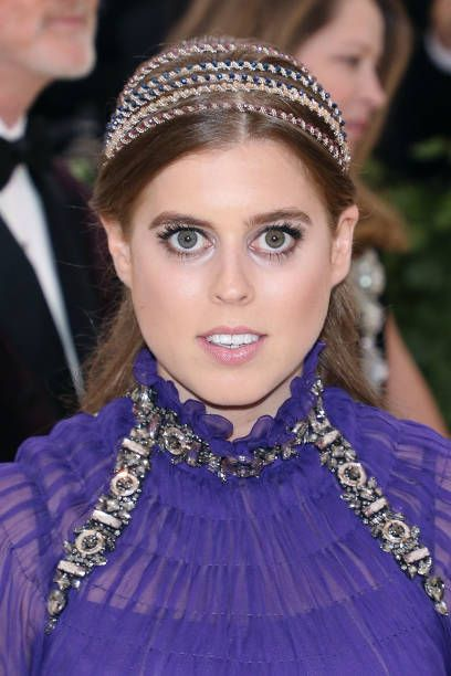 Princess Beatrice Of York Attends Heavenly Bodies Fashion And The