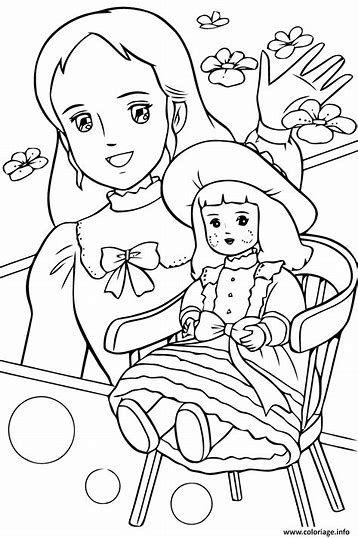Dessin De Princesse A Imprimer