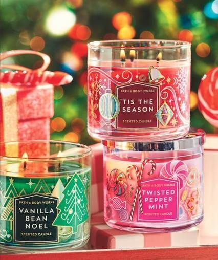 Bath And Body Works 2020 Christmas New Bath And Body Works Christmas Candles Ideas in 2020