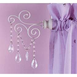 unique girls room   Curtain rods for girls room design / Designs Ideas and Photos of House ...