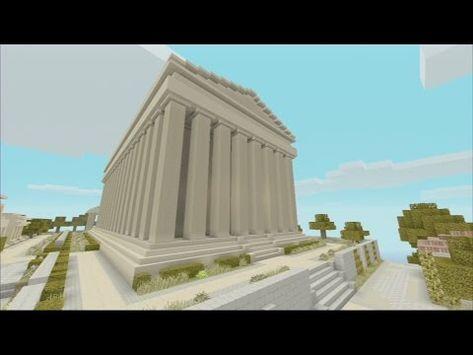 Minecraft Greek Mythology Map Youtube With Images Minecraft
