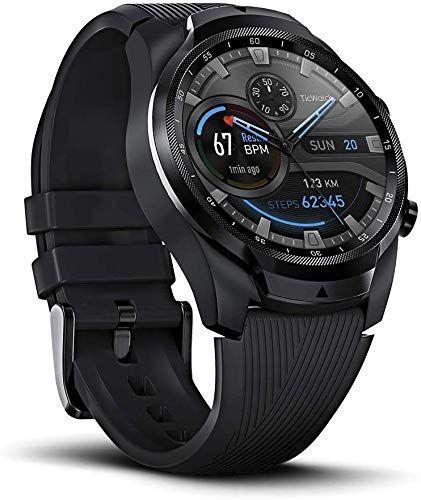 Ticwatch Pro 4g Lte Smartwatch Mit Mehrschichtigem Display Schlaf Tracking Funktion Geeignet Zum Schwimmen Lange Akkulaufzeit Smartwatch Schwimmen Funk