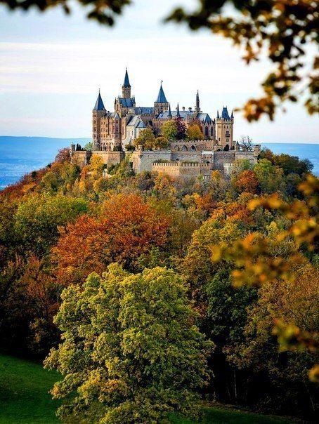 Burg Hohenzollern Hohenzollern Castle Stuttgart Germany Beautiful Castles Hohenzollern Castle Germany Castles