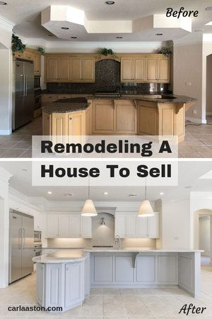 Before And After A Remodel Designed To Jump Start A Home Sale