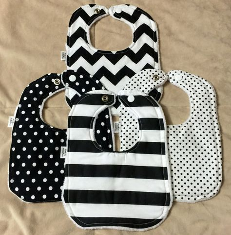 Hey, I found this really awesome Etsy listing at https://www.etsy.com/listing/252893919/baby-bibs-black-and-white-minky