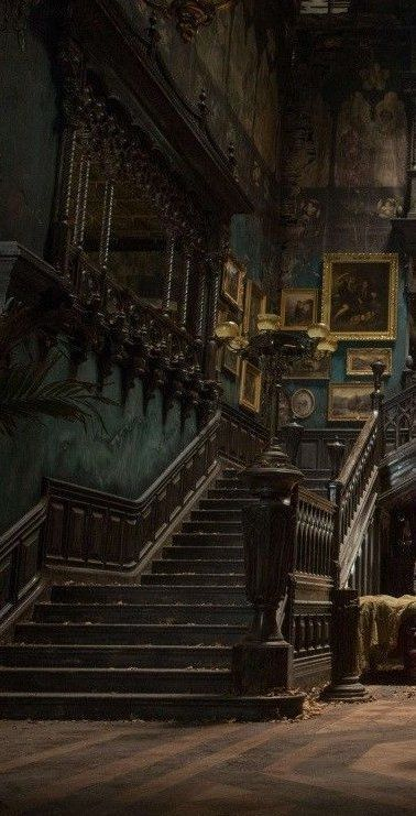 Slytherin Aesthetic, Harry Potter Aesthetic, Paradis Sombre, Dark Green Aesthetic, Concrete Stairs, Stair Makeover, Harry Potter Wallpaper, Draco Malfoy, Aesthetic Pictures
