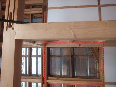 木陰手探りdiy 壁に作成した大きい枠と小さい枠に 集塵機で掃除を