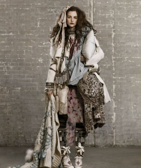 """T Magazine's """"Going Places"""" by stylist David Vandewal and photographer Mark Segal took every post apocalyptic fashion dream I've ever had and brought them to life in this spread."""