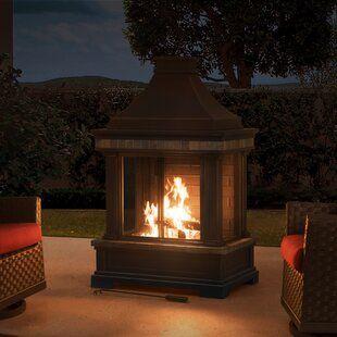 Outdoor Fireplaces You Ll Love In 2019 Wayfair Outdoor