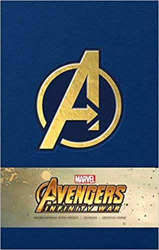 Marvel S Avengers Infinity War Hardcover Ruled Journal Amazon Co