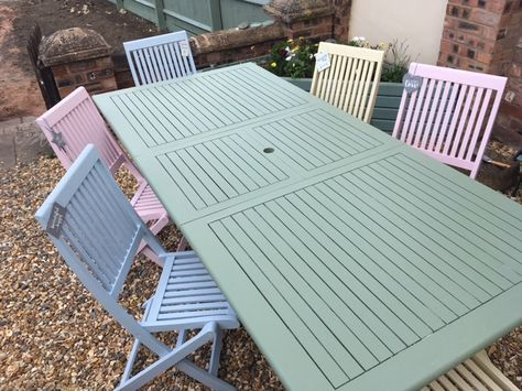 How To Paint Garden Furniture With, What Do You Paint Wooden Garden Furniture With
