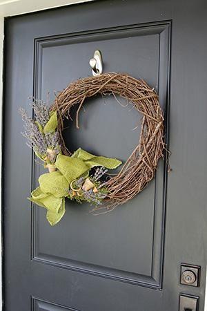 Inspiring Front Door Wreath Hook Gallery