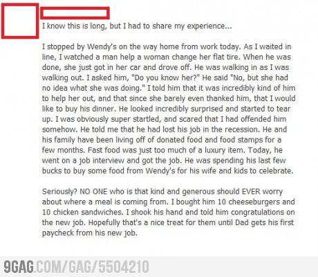 Faith In Humanity Restored. Restoring faith in humanity one act of kindness at a time