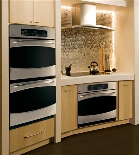 Appliances That Blend In A Kitchen That Stands Out Learn More By Clicking On The Photo Kitchen Design Small Kitchen Remodel Wall Oven