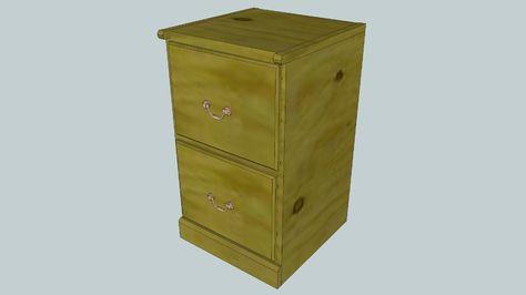 36 File Cabinet Plans Ideas, Wood File Cabinet Plans Free