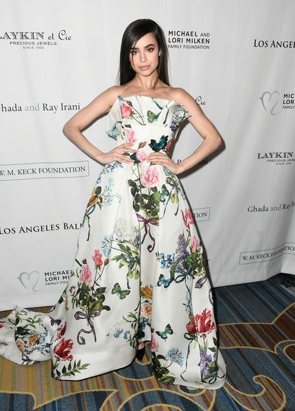 Sofia Carson attends the 12th Annual Los Angeles Ballet Gala at the Beverly Wilshire Four Seasons Hotel.