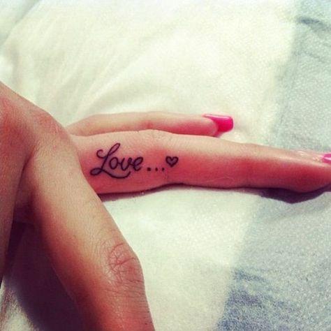 Cute Finger Tattoo Designs For Girls (16)