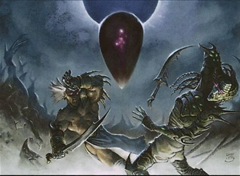 Oblivion Stone art Magic the Gathering card