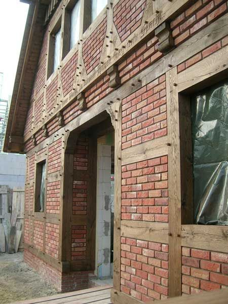 Beautiful Fachwerk Detailing And Brick Infill Fasady Domov Fahverkovyh Domov Detali Arhitektury